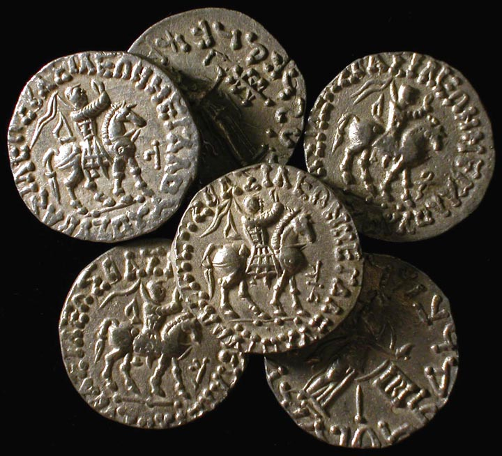 Coins of the three wise men the three kings of the bible king azes ii