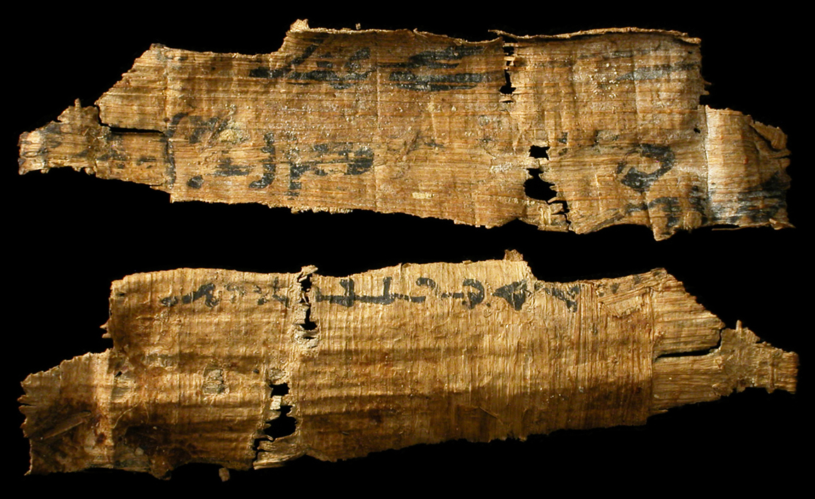Ancient Resource Papyrus Scroll Fragments For Sale