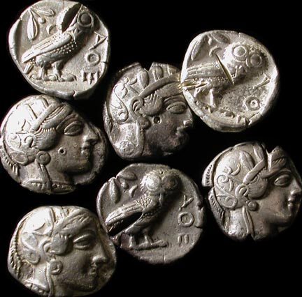 Ancient Greek Coins Pictures