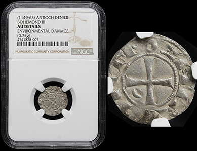Ancient Resource: Coins of the Crusaders Coins for Sale