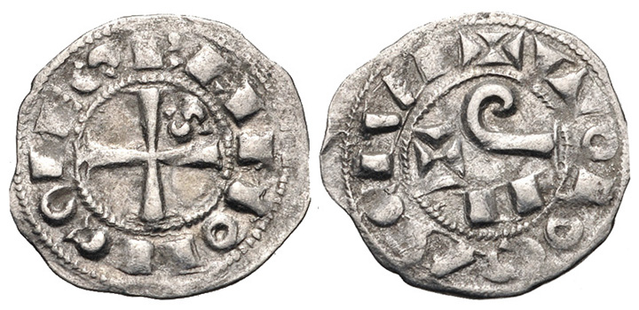 ancient resource  coins of medieval and feudal france