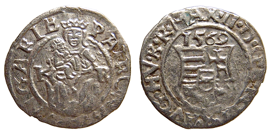 Madonna and Child Medieval Silver Denar Coin 1458 AD NGC Certified With Story