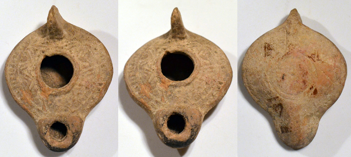 Ancient Resource: Ancient Holy Land Biblical-Period Oil Lamps for Sale