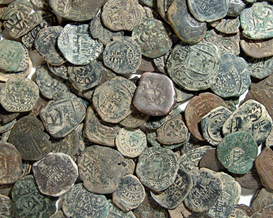 Ancient Resource Authentic Spanish Copper Quot Pirate Quot Coins