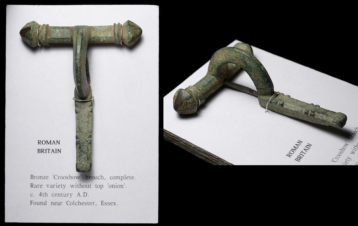 Pasador de capa romano Crossbow-fibula-ar2356