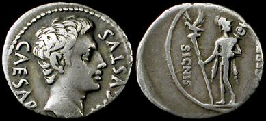 Ancient resource roman coins of julius caesar for sale see also augustus caesar coins freerunsca Images