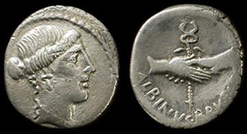 Julius Caesar Roman Coin Roman Empire Denarius, 28-g Republic To Empire