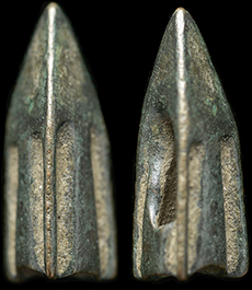 Rare original ancient Greek battle spear head artifact intact 1st century BC