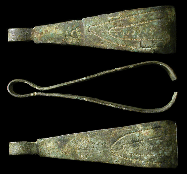 Ancient Egyptian Glass Hair Ring